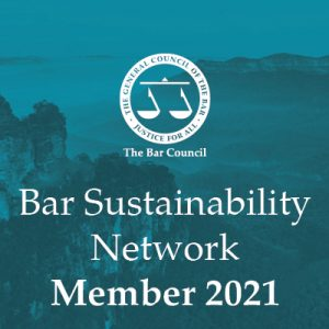 Bar Council Sustainability Network Member